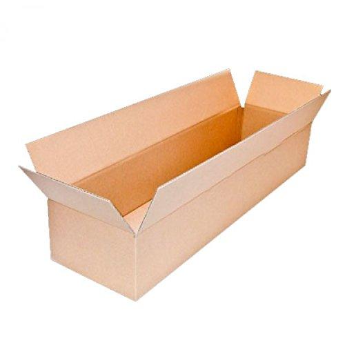 Karton Faltkarton 1-wellig 900 x 250 x 150 mm 65 Stück Frei Haus