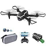 allcaca S171 RC Mini Drone con Telecamera FPV 4K HD Doppia - RC Quadricottero WiFi Pieghevole Drone...