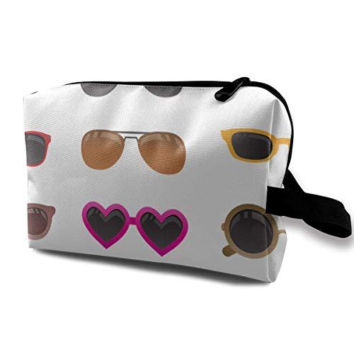 Varios Estilos de Gafas de Sol Bolsa de Almacenamiento de cosméticos Personalizada Mujer Impermeable para Viaje Bolsa de Transporte