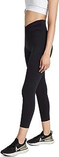Rockwear Activewear Women's Ag Cross Over Waist Tight Black 14 from Size 4-18 for Ankle Grazer Bottoms Leggings + Yoga Pan...