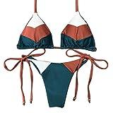 Vectry Bikinis Calzedonia Tankini Push Up Bañadores De Mujer con Aros Bañadores De Mujer Dos Piezas Traje De Baño Mujer Tallas Grandes Traje De Baño Halter Negro