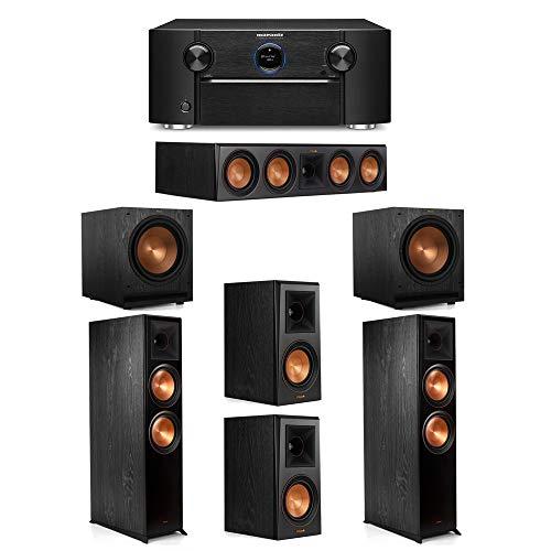 Best Prices! Klipsch 5.2 System with 2 RP-8000F Floorstanding Speakers, 1 Klipsch RP-504C Center Spe...