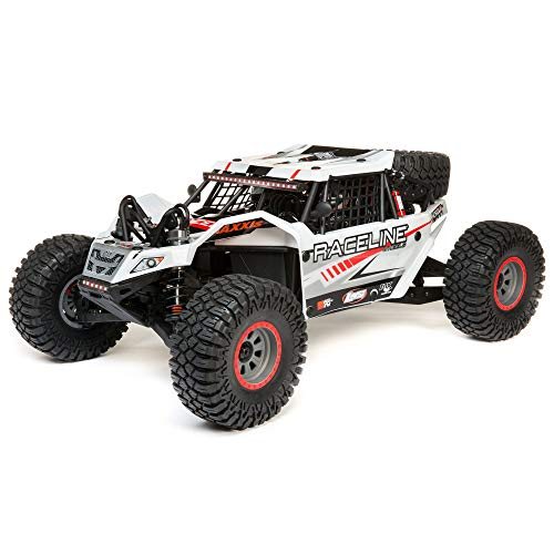 Losi RC Truck 1/6 Super Rock Rey 4WD Brushless Rock Racer RTR (Ready-to-Run) with AVC, Baja Designs, LOS05016T1