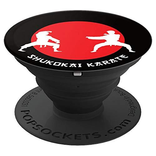 Shukokai Karate Kampfsport Kampfkunst - PopSockets Ausziehbarer Sockel und Griff für Smartphones und Tablets