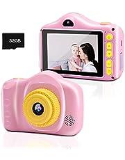 Kids Camera, Digitale Camera's, Chalpr Camera voor Kinderen met 3,5 inch Scherm 12MP 1080P HD Camera voor Kinderen, Speelgoed Camera voor Kinderen 2-12 Jaar Oude Verjaardag Kerst Nieuwjaar Cadeau (Blauw)