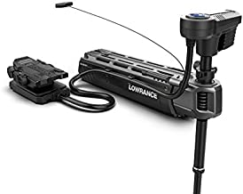 Lowrance Ghost Freshwater Trolling Motor with 47 inch Shaft. Ultra-Quiet with the Most Thrust and the Longest Run Time. Hdi Sonar, Waypoint Anchoring, Autopilot