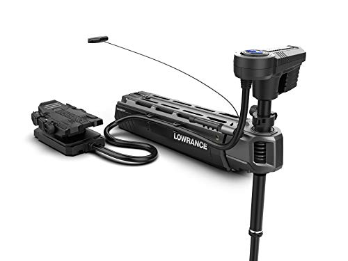 Great Features Of Lowrance Ghost Freshwater Trolling Motor with 47 inch Shaft. Ultra-Quiet with the ...