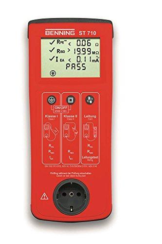 BENNING BENNING ST710 Gerätetester DIN VDE 0701-0702 200 mA DC