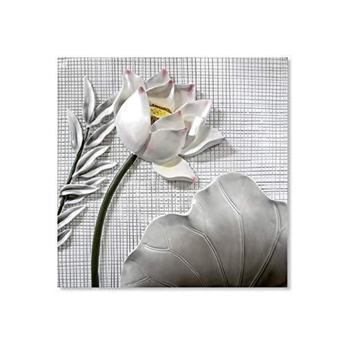 hetingyue Frameloze Chinese Lotus decoratieve muur kunstdruk poster op canvas poster woonkamer poster schilderij