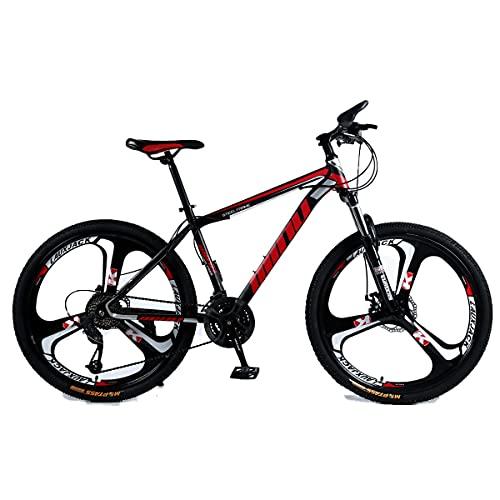 GGXX 24/26 Pollici Mountain Bike 21/24/27 velocità Freno A Doppio Disco Full Suspension Bicicletta da Esterno per Adulti Uomini E Donne