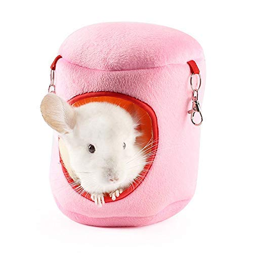 Soft Comfortable Pet Bed Hamster House Guinea Pig Hammock Guinea Pig House Hamster Cage Accessories Rat Bed Small Rat Hammocks For Cage Cat Hammock Cat Beds Blue,L