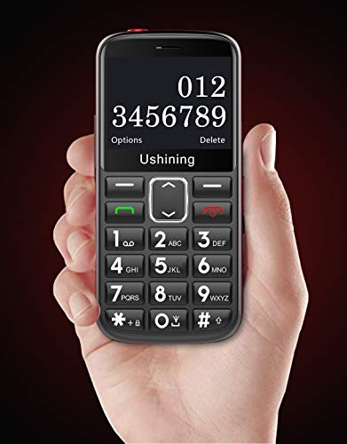Ushining Hearing Aid Compatible 3G phone