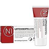 N1 Herpes Creme bei Lippenherpes mit Sofort-Effekt 2ml - wirkt gegen Herpes Symptome bis zu 30x schneller als Aciclovir - verhindert Bläschen-Bildung, stoppt die Virenvermehrung -...