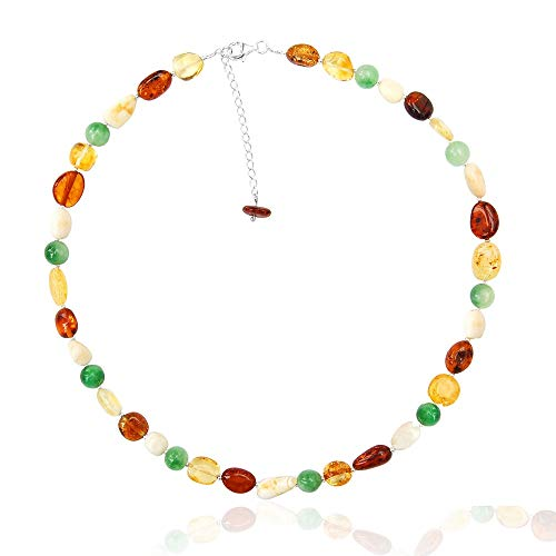 Goldmajor - Women Amber Collar Necklace CL873