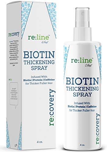Biotin Hair Thickening Spray for Thin Hair Texturizing Spray Hair Loss Prevention Thinning Hair Thickening Tonic for Fine Hair Thick Hair Growth Products for Men for Women (THICKENING SPRAY)