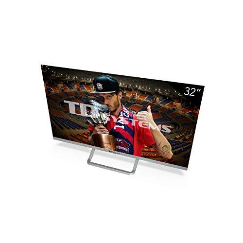 TD Systems - Televisor K32DLX11HS, Smart TV 32 Pulgadas, Android 9.0 y HBBTV, 800 PCI Hz, 3X HDMI, 2X USB. DVB-T2/C/S2, Modo Hotel, Negro