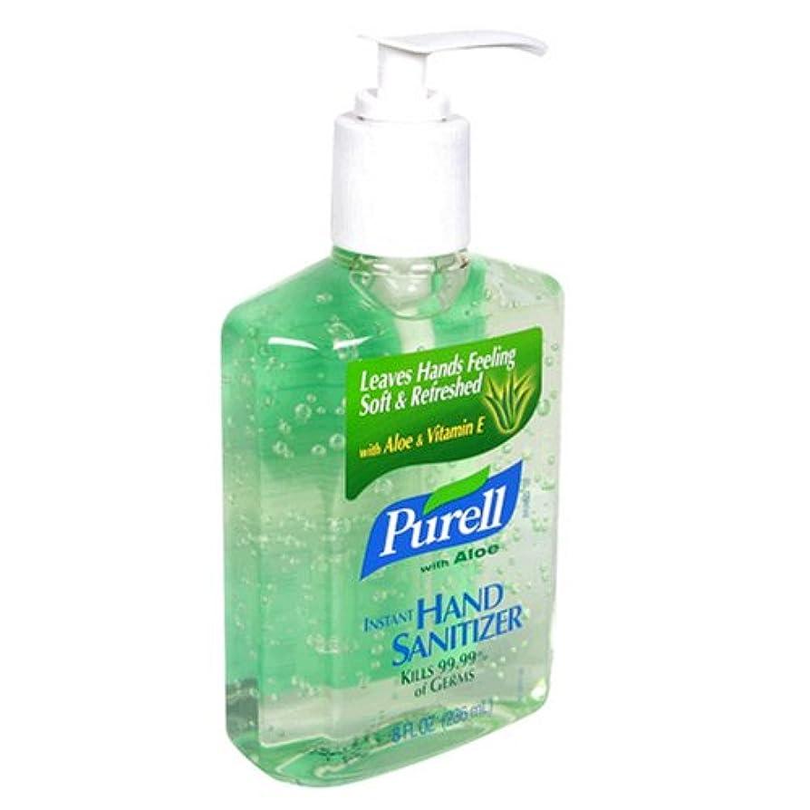 分析的不誠実賢い海外直送品Purell Purell Advanced Hand Sanitizer Gel With Pump Aloe, Aloe 8 oz