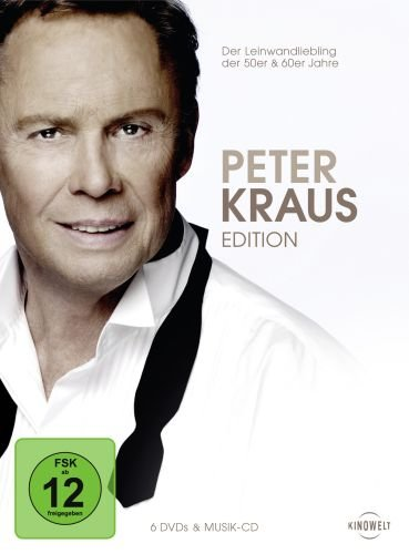 Peter Kraus Edition (+ Audio-CD) [6 DVDs]