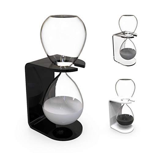 Sanduhr Deko 30 Minute - Glas Sanduhr Groß mit modernem Ständer - Moderne Gadget und Haus Dekoration