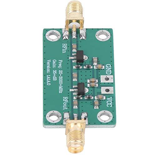 Weikeya Amplificador simple del RF, módulo audio del amplificador de DC 3.3-6V 20-3000MHz 150mA hecho de baquelita