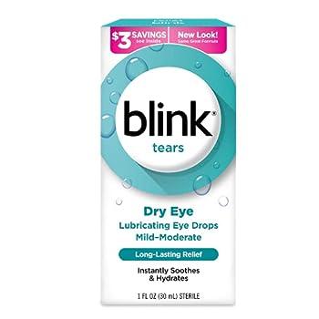 Blink Tears Lubricating Eye Drops 1 oz.