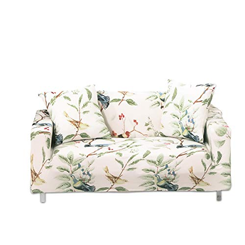 PETCUTE Sofabezug Sofa Überwürfe elastische Stretch Sofa bezug Sofahusse 2 Sitzer couchbezug Stretch