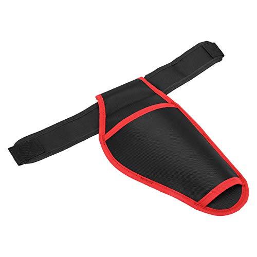 Portabrocas para electricista Cinturón Bolsas para la cintura Bolsa colgante, profesional y práctica Funda para taladro de extracción rápida Estable y duradera para almacenamiento de