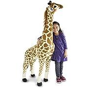 Melissa & Doug Giant Giraffe - Lifelike Stuffed Animal (over 121 centimetres tall)
