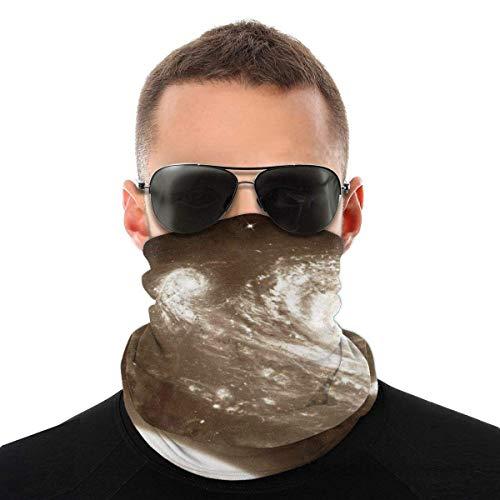 Lsjuee Sloth Space Astronaut Bandanas Cuello Polaina Cubierta facial para mujeres Hombres Decoración deportiva al aire libre