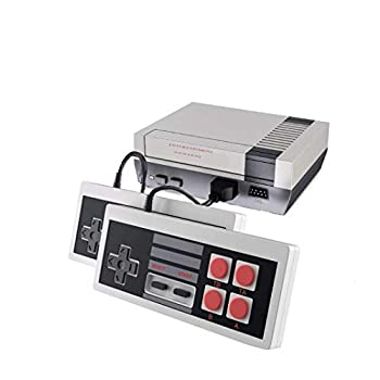 Classic Retro Game Console AV Output NES Console Built-in 620 Classic Video Games for Kids Gift Birthday Gift