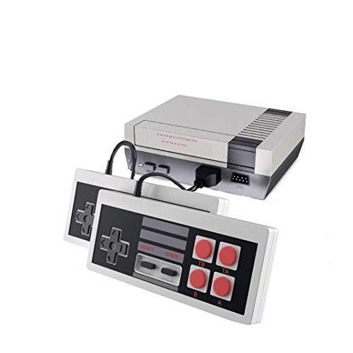 Classic Retro Game Console AV Output NES Console Builtin 620 Classic Video Games for Kids Gift Birthday Gift