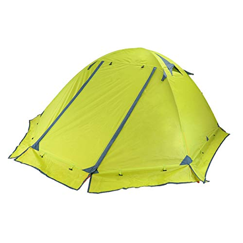 Azarxis 1 2 Person 3 4 Season Backpacking Tents Easy Set Up Waterproof Lightweight Professional Double Layer Aluminum Rod Tent for Camping Outdoor Hiking Travel Climbing