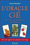 Oracle Gé - Nouvelles méthodes de tirages - Trajectoire - 15/11/2001