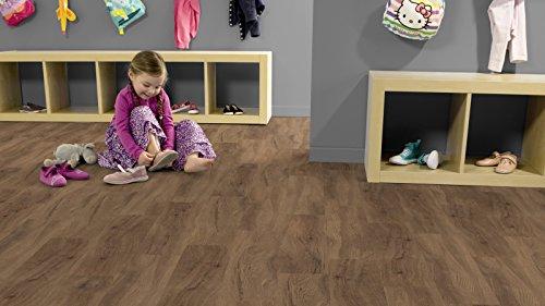 Gerflor 30 [Artline] Wood - Quartet Holzdekor Vinyl-Fußbodenbelag 0503 Designboden für den Objektbereich zum aufkleben - Paket 3,34m²