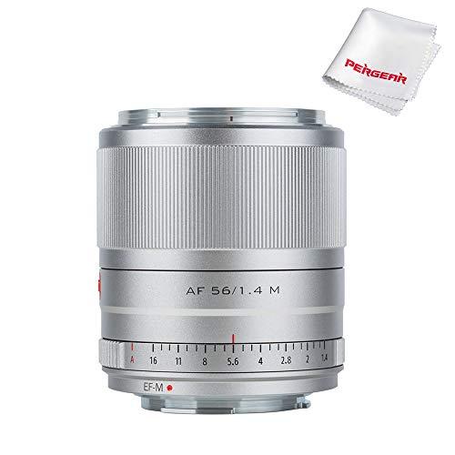 VILTORX 56mm f1.4 Objetivo Prime Auto Focus APS-C para Canon EOS M-Mount M10 M100 M2 M3 M5 M50 M6 M6II