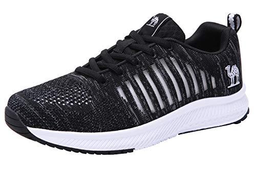 CAMEL CROWN Damen Laufschuhe Leichte Tennisschuhe Atmungsaktive Wanderschuhe Sportschuhe Straßenlaufschuhe Gym Jogging Athletic