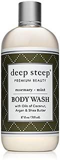 Deep Steep Body Wash, 17 Ounce (Rosemary Mint)
