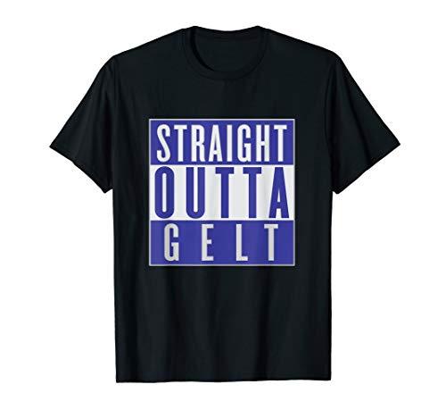 Funny Straight Outta Chocolate Gelt Hanukkah T-Shirt