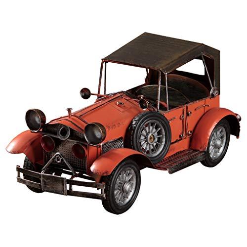 Sculpturen Kunstwerk Retro Smeedijzeren Ornamenten Klassieke Auto Model Ornamenten Woonkamer TV Kabinet Decoraties Shop Meubels Ambachten