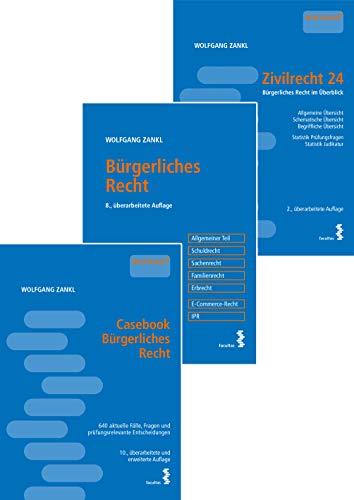 Kombipaket Casebook Bürgerliches Recht, Bürgerliches Recht - Kompakt und Zivilrecht 24