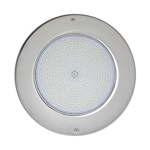 LED Pool koplamp 12V AC 35W RGB multicolor behuizing roestvrij staal D260x25mm Ospa/Wibre vervanging