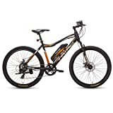 TRIAD Men's and Women's E1 Electric Pedelec Bicycle, 18'' Frame, 26 inch Tyre (Black) (No-Cost EMI Available)