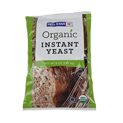 Red Star Organic Instant Yeast - 1 Pouch - 8 ounces
