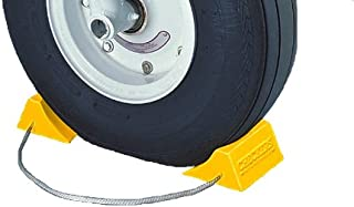 Roadblock RC915 Rubber Wheel Chock with Void Bottom Black 7.25 Height 11.5 Length 10 Width 7.25 Height Checkers Industrial Safety Products Inc. 11.5 Length 10 Width