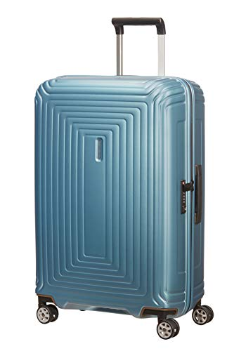 Samsonite Neopulse - Spinner M Koffer, 69 cm, 74 L, Blau (Matte Ice Blue)