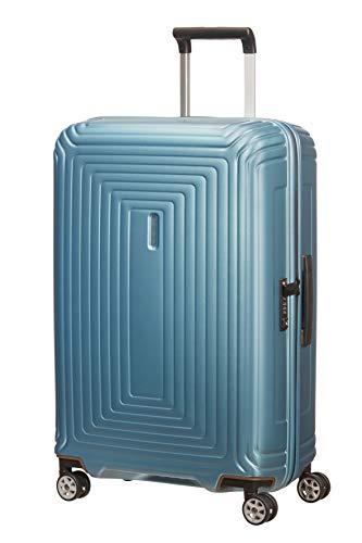 Samsonite Neopulse - Spinner M Koffer, 69 cm, 74 L, Blau (Matte Ice Blue)