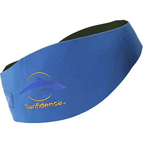 Konfidence AquaBands Ohrband/ Stirnband, inkl. Silikon-Ohrstöpsel, für Babys/Kinder/Erwachsene