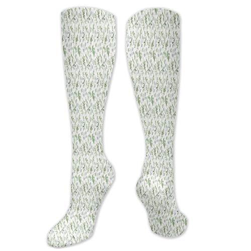 Par de calcetines de compresión para hombre y mujer de eucalipto suave