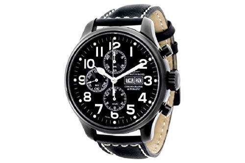 Zeno-Watch-Basel Men´s Watch Automatic 8557TVDD-bk-a1