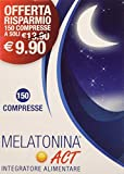 ACT Melatonina 1Mg, Blu, 150 Compresse
